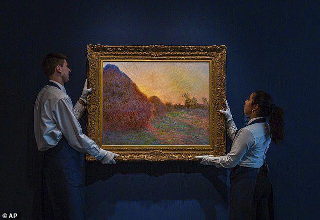 Bức tranh khắc họa đống rơm tăng giá 45 lần lên… 2.500 tỷ đồng - 1