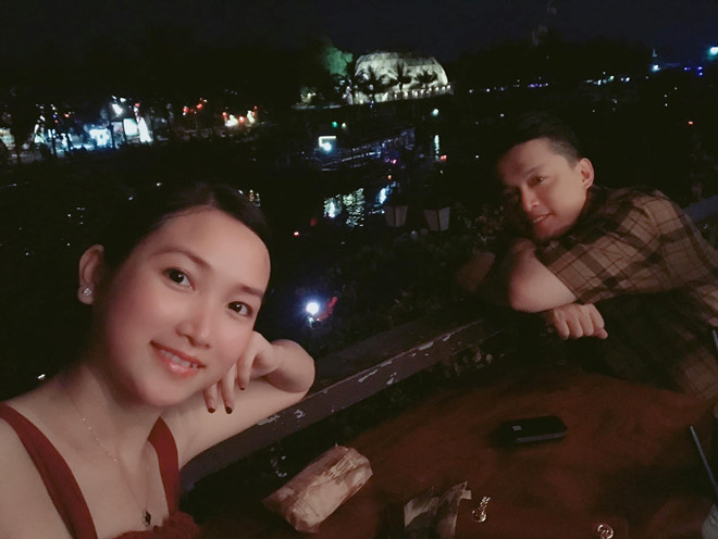 Lam Truong va vo 9X du lich Hoi An sau on ao hon nhan ran nut hinh anh 1